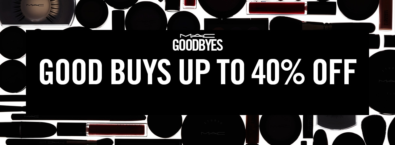 GET UP TO 40% OFF EXPLORE GOODBYES FOR A SELECTION OF COLOURFUL LIP, FACE AND EYE PRODUCTS AT UP TO 40% OFF THEIR ORIGINAL PRICE. ONCE THEY SELL OUT, ...