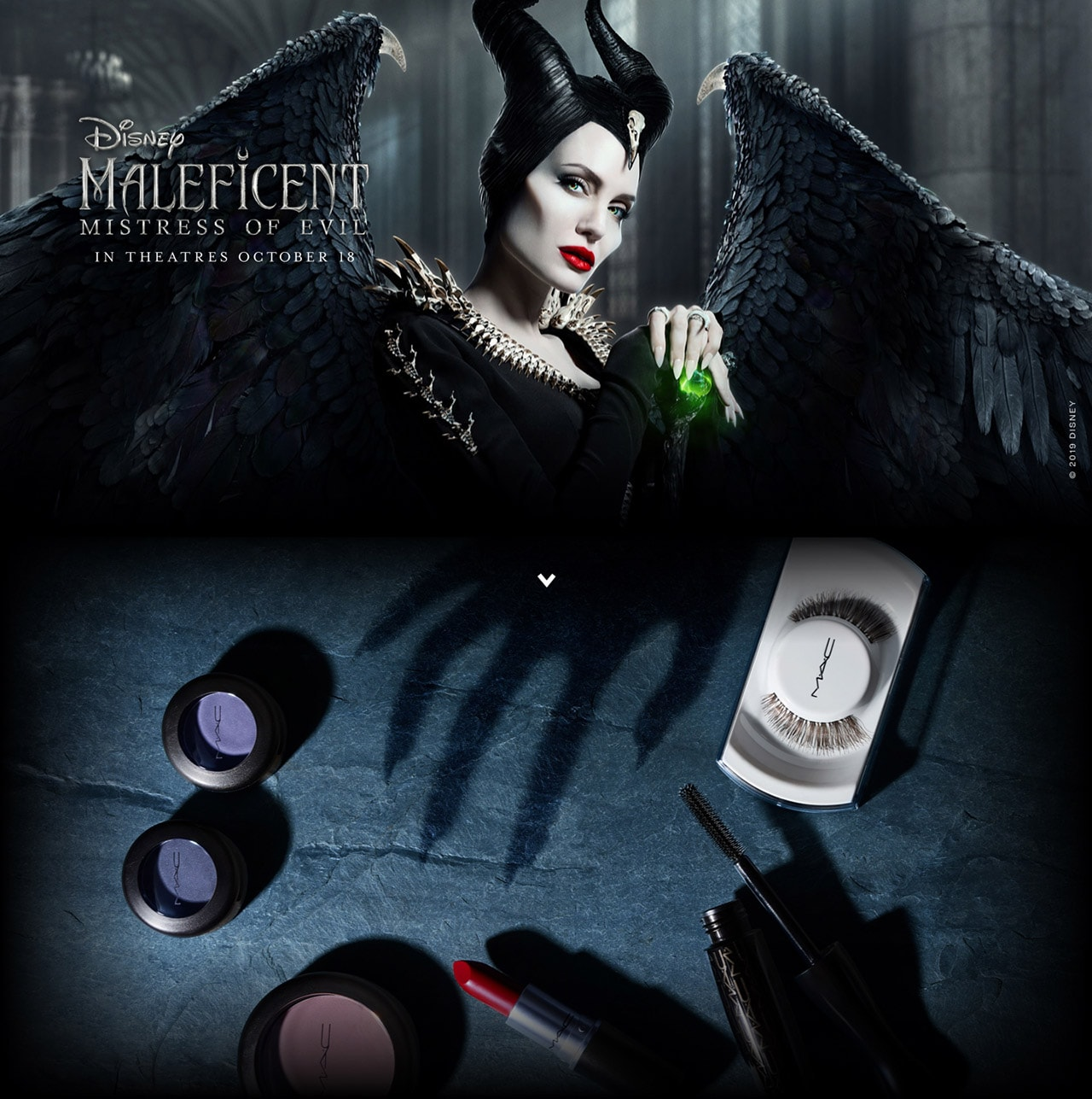 Maleficent Launch Landing Page Mac Cosmetics Official Site