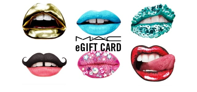 Mac Cosmetics Gift Cards E