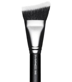 맥 브러쉬 M.A.C 164 Synthetic Duo Fibre Curved Sculpting Brush