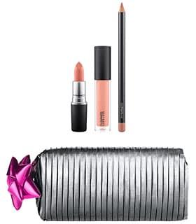 [2018 홀리데이 컬렉션] 맥 굿디 백 : 누드 립스  / 샤이니 프리티 띵스 M.A.C Goody Bag: Nude Lips / Shiny Pretty Things,Nude Lips