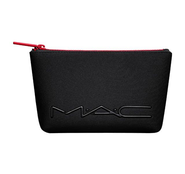 Red Zipper Neoprene Makeup Bag 15 Value