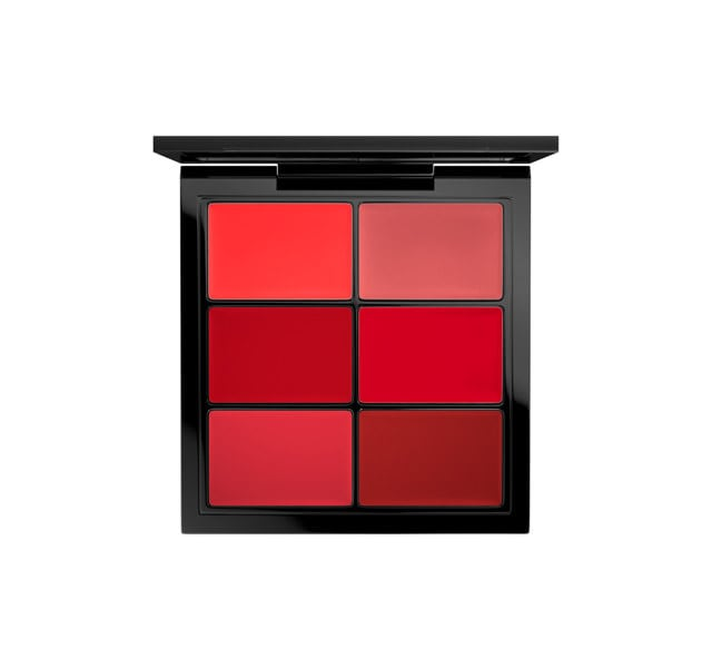 Mac PRO Lip Palette / 6 Editorial Reds