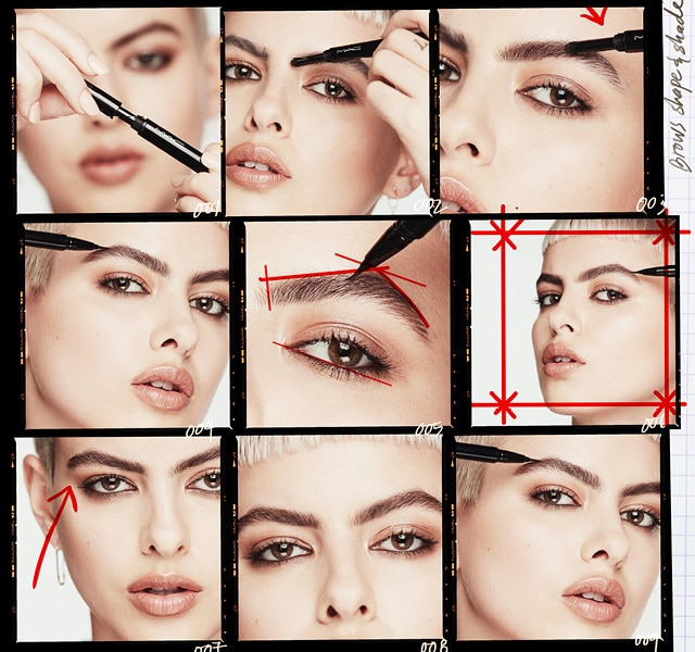 Shape Shade Brow Tint Mac Cosmetics Official Site