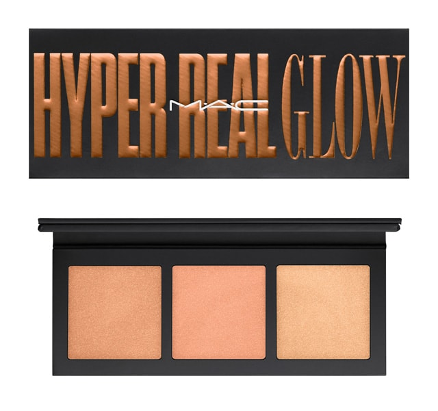 Hyper Real Glow Palette/ Shimmy Peach by Mac Cosmetics