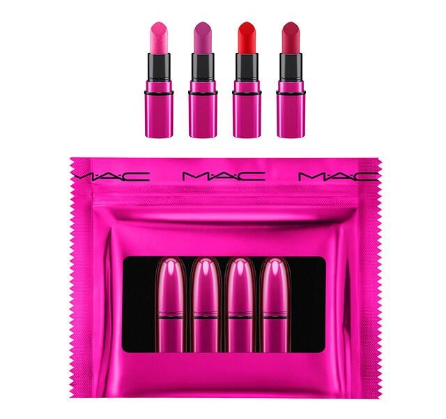 Mini Lipsticks: Brights / Shiny Pretty Things by Mac Cosmetics
