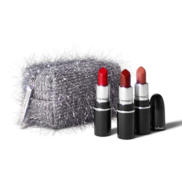 [2020 홀리데이 리미티드 에디션] 맥 파이어워크드 라이크 어 참 미니 립스틱 키트 M.A.C Fireworked Like A Charm Mini Lipstick Kit ($41 Value)