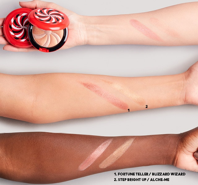 MAC Hyper Real Glow Duo Christmas Holiday 2021 - Swatches