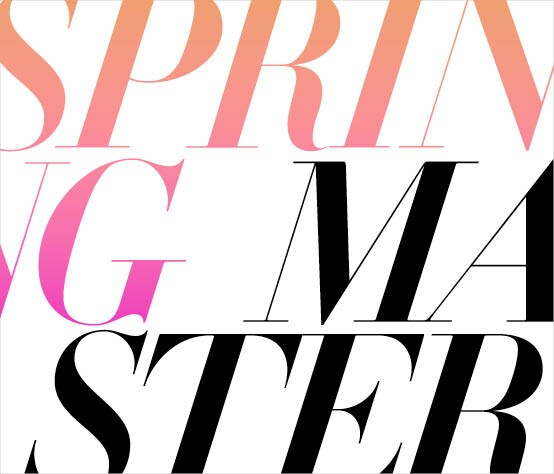 Events: Spring 2016 Master Classes